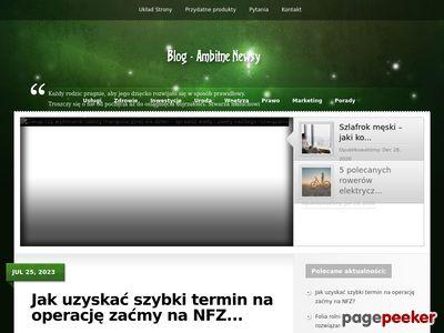 Portal z wieloma informacjami