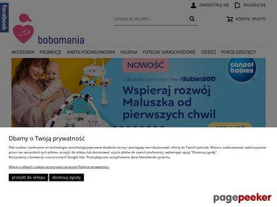 Bobo-mania.pl - Sklep z artykułami dla dzieci
