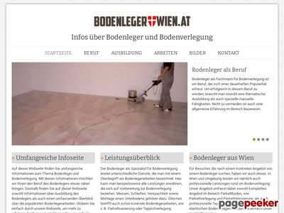 Die Infoseite Bodenleger-Wien.at