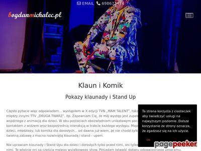 Klaun Fred - bogdanmichalec.pl