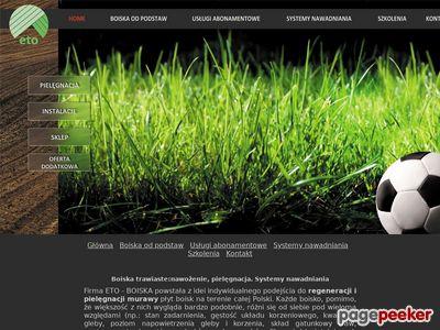 Http://boiska.eto.com.pl : Regeneracja murawy