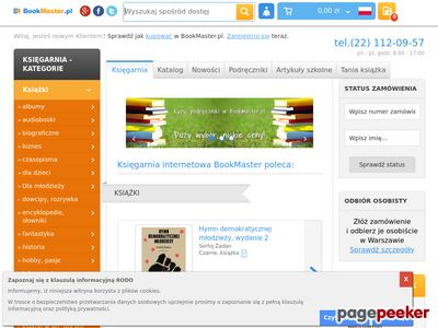 bookmaster.com.pl Księgarnia Warszawa