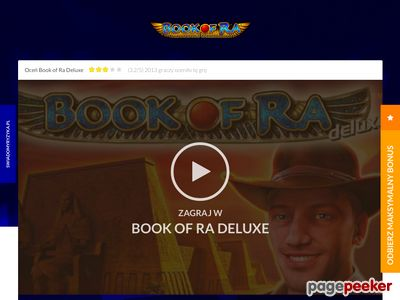 Book of Ra Deluxe automaty do gry online Bookofra.pl