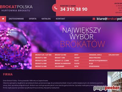 ENTER BROKAT POLSKA