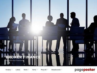 Broker Finance - Pośrednictwo Finansowe