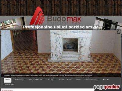 BUDOMAX PARKIETY - cyklinowanie Białystok i Warszawa