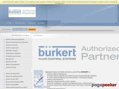 Aparatura Przepływowa BüRKERT Polska