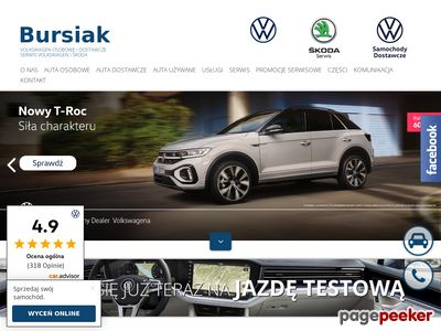 Salon i serwis Volkswagen BURSIAK