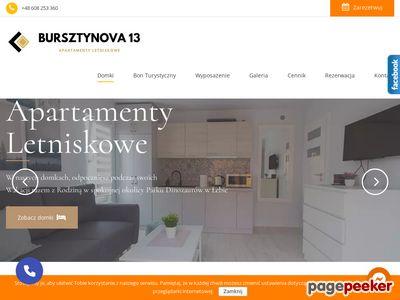 Apartamenty Letniskowe Bursztynowa 13
