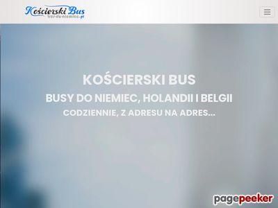 Kościerski bus szybko i komfortowo