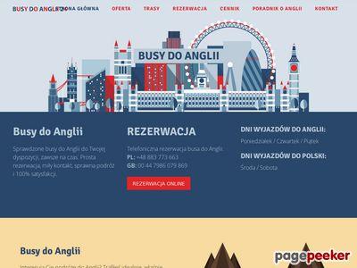 Busy do Anglii - Przewozy Polska Anglia - BusyDoAnglii24.pl