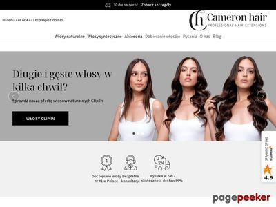 Cameron Hair - największy sklep z doczepianymi włosami