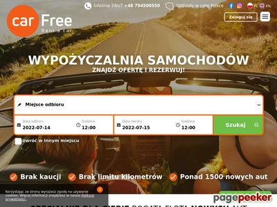 Wypożyczalnia samochodów Lublin - carfree.com.pl