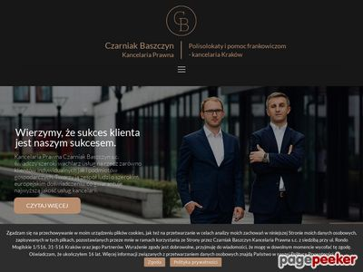 Adwokat Kraków, likwidacja polisolokaty, pomoc frankowiczom
