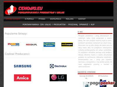 Porównywarka Cen - Towary i Usługi - Cenowo.eu