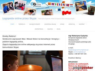 Logopeda online. Terapia dzieci dwujęzycznych.