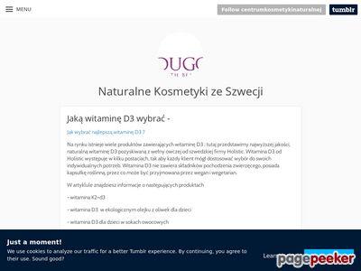 Naturalna witamina d3 sklep Holistic