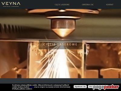 Wycinanie laserem -Centrum laserowe Veyna