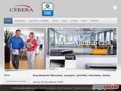 Kserokopiarki kolorowe cerera.pl