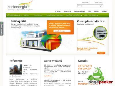 Certyfikat energetyczny