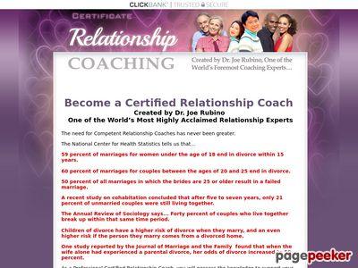 Joe Rubino's Relationship Coaching Certification