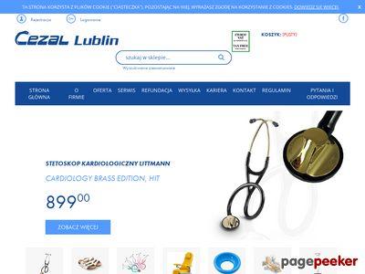 Wyposażenie sal chorych - cezal.lublin.pl