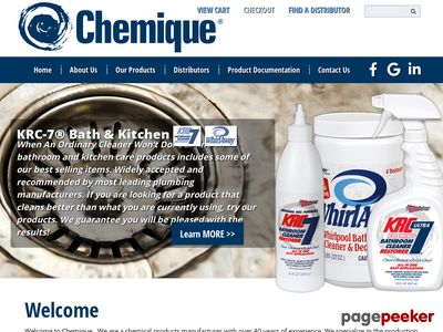 Chemique Inc. Screenshot