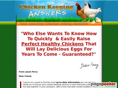 Answers To Raising Chickens