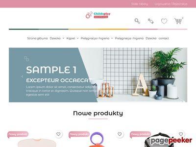 Wszystko dla dziecka w sklepie Childsplay.pl