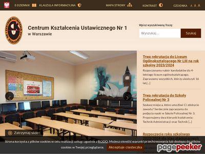 CKU NR 1 edukacja dla dorosłych Warszawa