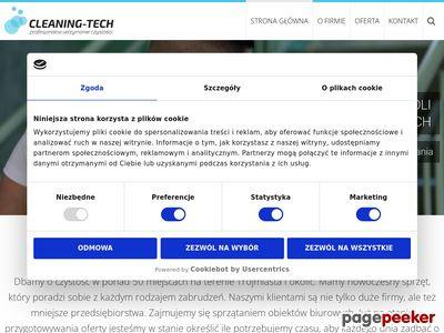 Sprzątanie pobudowalne - Cleaning-tech