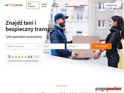 Pierwszy polski serwis aukcji transportowych