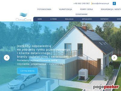 ClimaCore - montaż wentylacji Bielsko-Biała