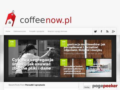 Coffeenow.pl - Posadzki żywiczne