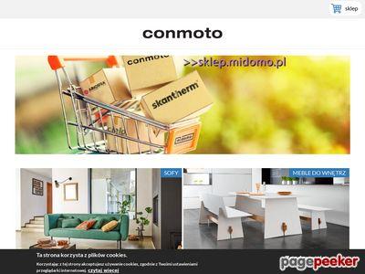 Conmoto Polska - biokominki, kominki na drewno