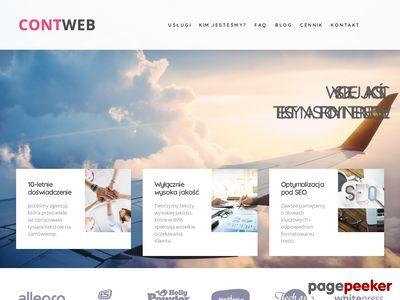 Prowadzenie bloga firmowego – Contweb.pl