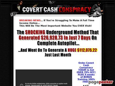 Covert Cash Conspiracy