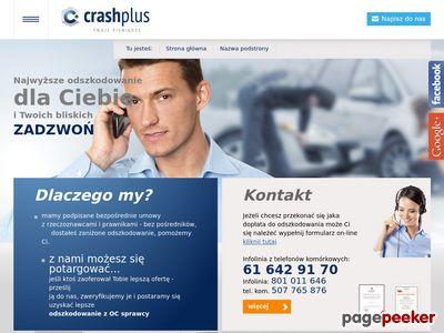 Zaniżone odszkodowanie - CrashPlus