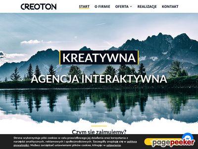 Www.creoton.pl - projekty graficzne