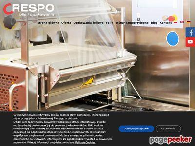 CRESPO opakowania z folii producent Łódź