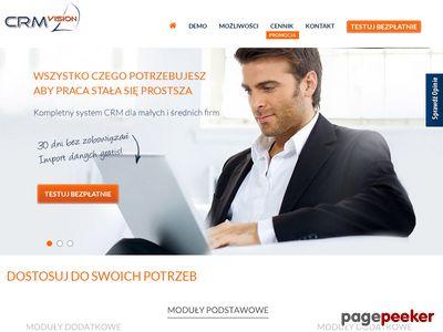 System CRM online - CRM Vision