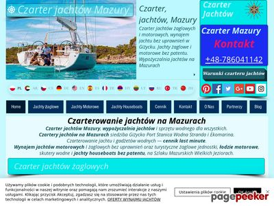 czarter mazury - czarter jachtów mazury - CZARTER JACHTÓW