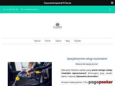 Czyszczenie dywanów na terenie Krakowa