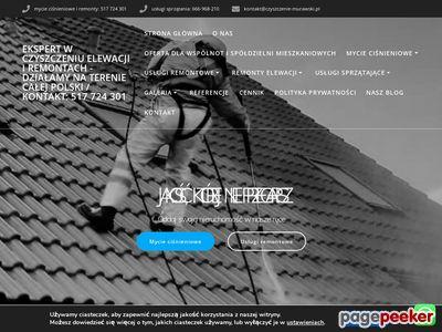 Czyszczenie elewacji - Murawski