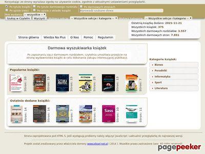 Czytelnia online serwisu Wiedza Na Plus