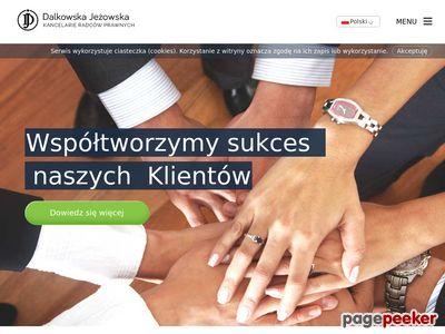 Dalkowska i Jeżowska - kancelaria radców prawnych