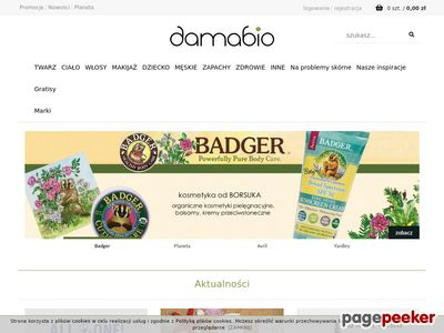 DamaBio naturalne kosmetyki