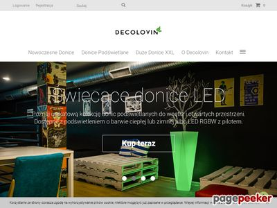 Donice i dekoracje - Decolovin.pl
