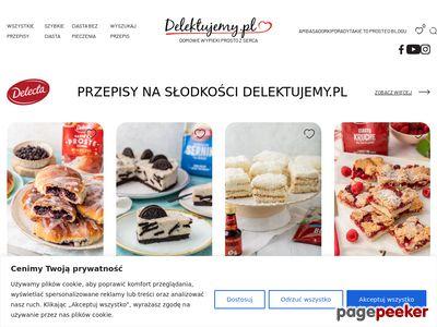 Przepisy na ciasta - Delektujemy.pl