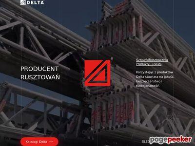 Rusztowania elewacyjne Delta-bud